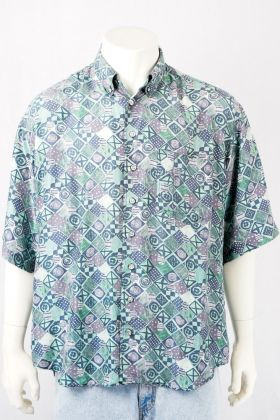 Vintage Hemd -XL- Reine Seide