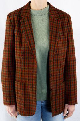 Vintage Blazer -36- Checked