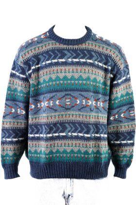 80's Vintage Pullover -M-