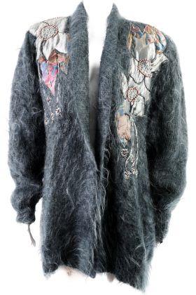 Vintage Mohair Cardigan -L-