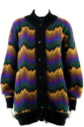 Vintage Long Cardigan -L-
