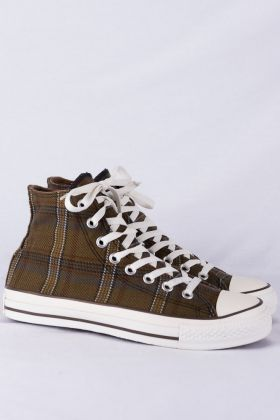 Converse Chucks HI Sneakers gr. 6 1/2 39,5  kariert Limited Edition