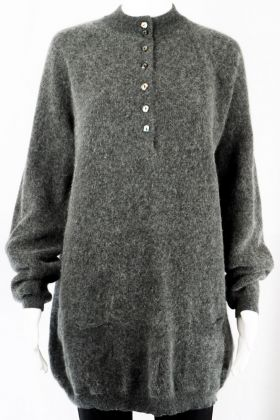 Vintage Long Pullover -M-