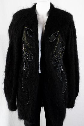 Mohair Vintage Cardigan -One Size-