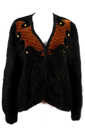 Vintage Cardigan -M- Hand Made Collection