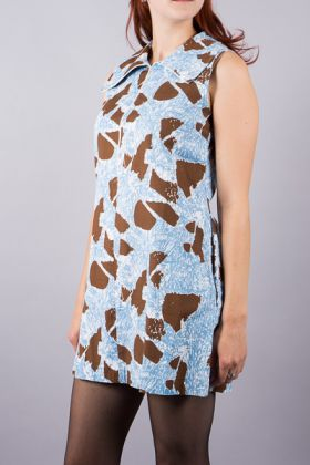 Vintage 60's Dress mit Print - Juna