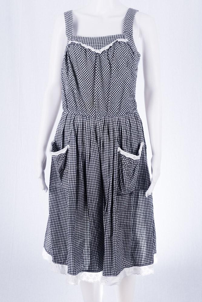the best attitude 2b943 3cac4 Vintage Kleid Folkore dress Dirndl Stil 46 L 90er Jahre Mode ...