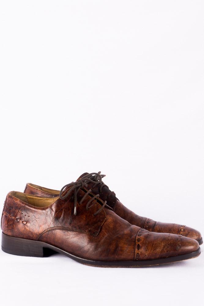 huge discount 44554 ea843 Leder Schuhe von Oxmox in 40 mit Patina rundum aus Leder ...
