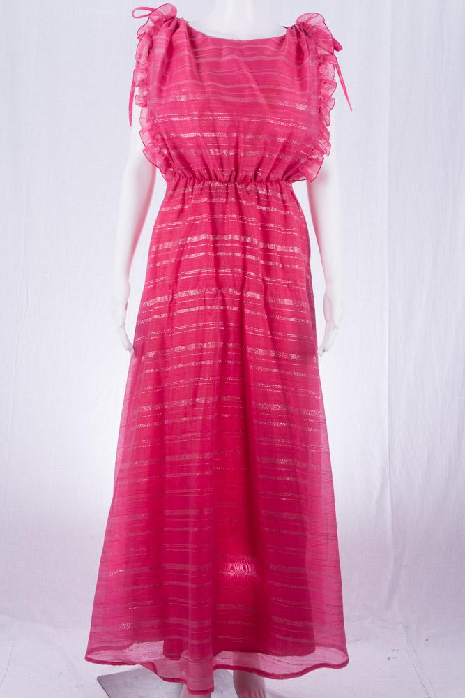 Vintage Kleid 36 70er Jahre Mode Prinzessinnenkleid - vintagekollektiv ba72909834