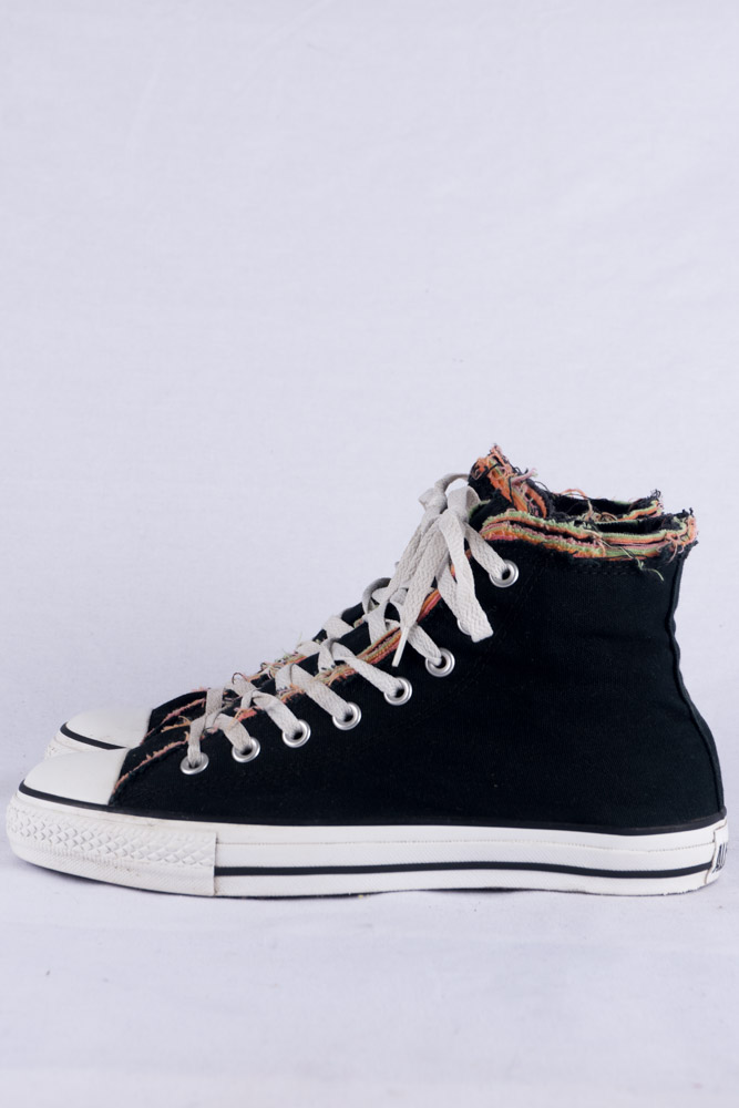 CONVERSE CHUCKS HI SNEAKERS 8 41.5 Rough Double Layer