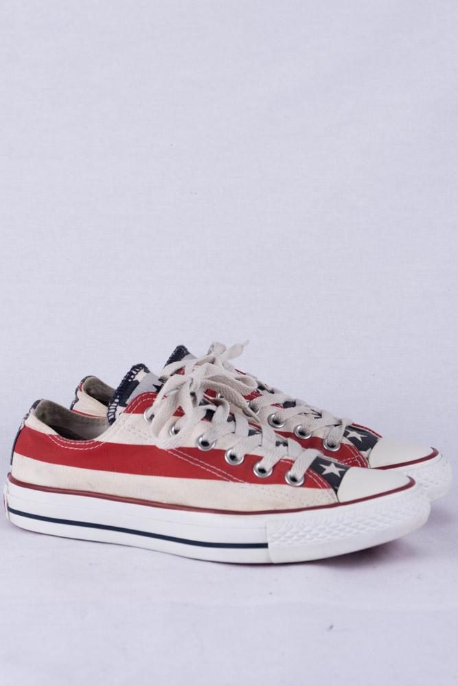 Converse Chucks HI HI HI Lo Sneakers 5 37.5 Sample Limited Edition USA 4146f1