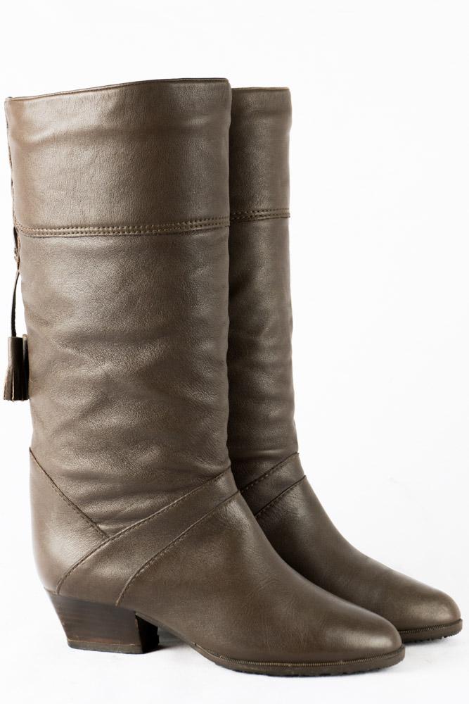 pretty nice 35008 4baba Vintage Stiefel 36 Salamander Schuhe 3 Futter Boots 70er ...