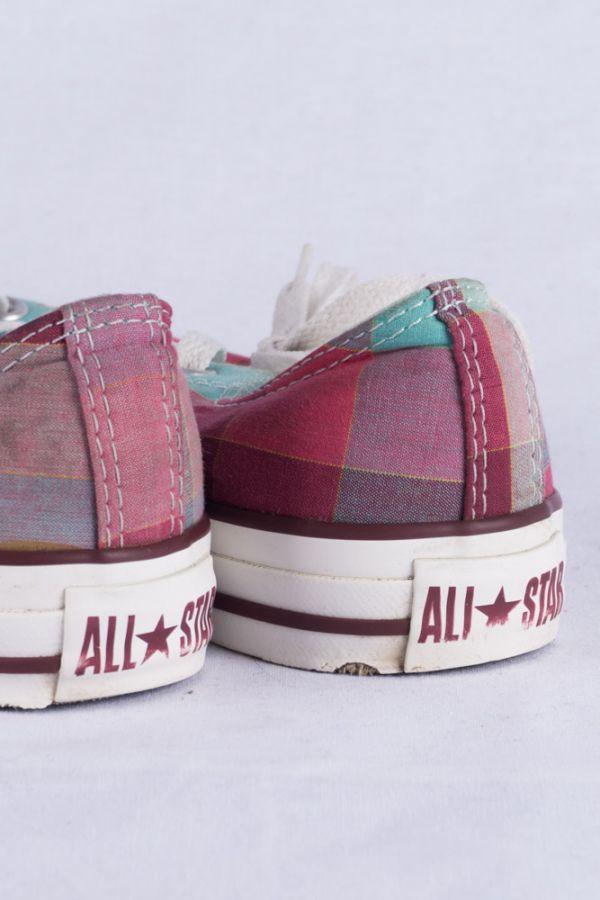 Converse Chucks HI Lo Sneakers 5 37.5 Kariert Limited