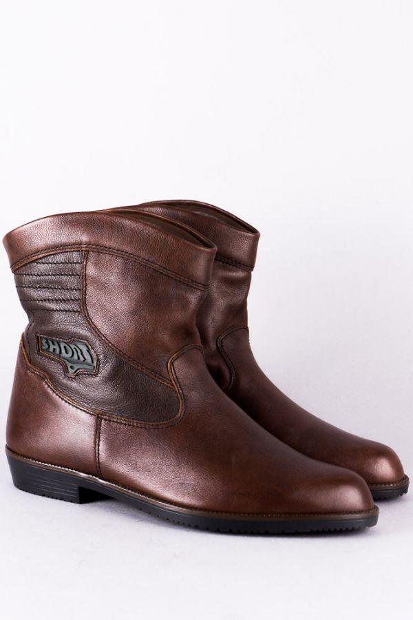 80s Vintage Leder Stiefel Futter 45 Neu Deadstock padded leather Stiefel 90s Boho
